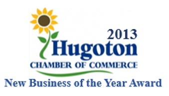 2013 Hugoton Chamber of Commerce New Business Of The Year Award