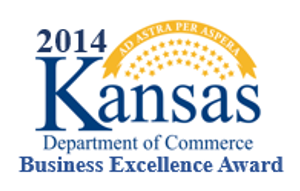2014 Kansas Department of Commerce Business Excellence Award